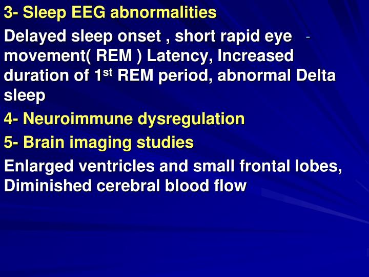 3- Sleep EEG abnormalities