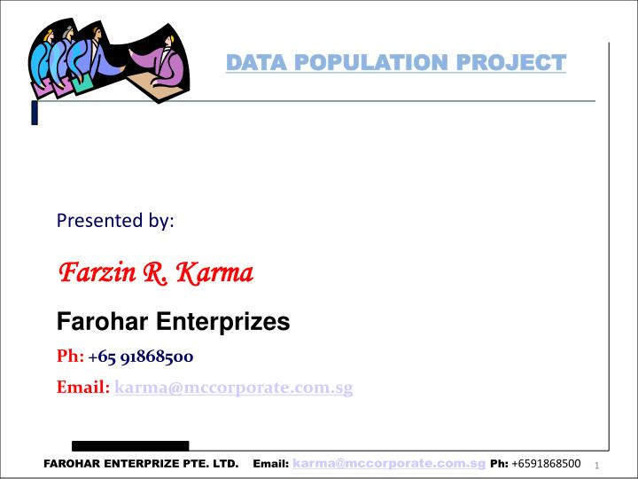 DATA POPULATION PROJECT