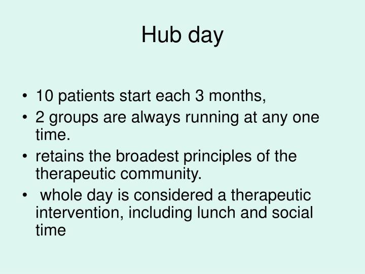 Hub day