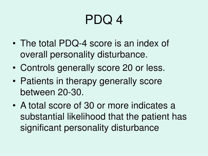 PDQ 4