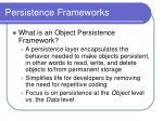 persistence frameworks2