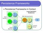 persistence frameworks4