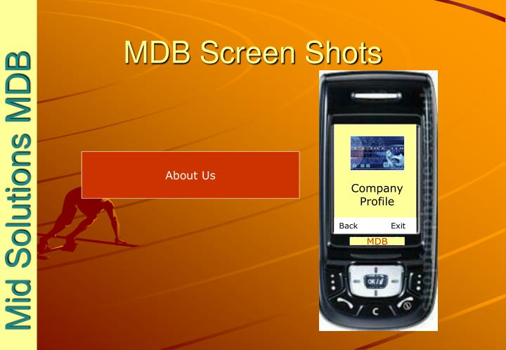 Mdb screen shots2