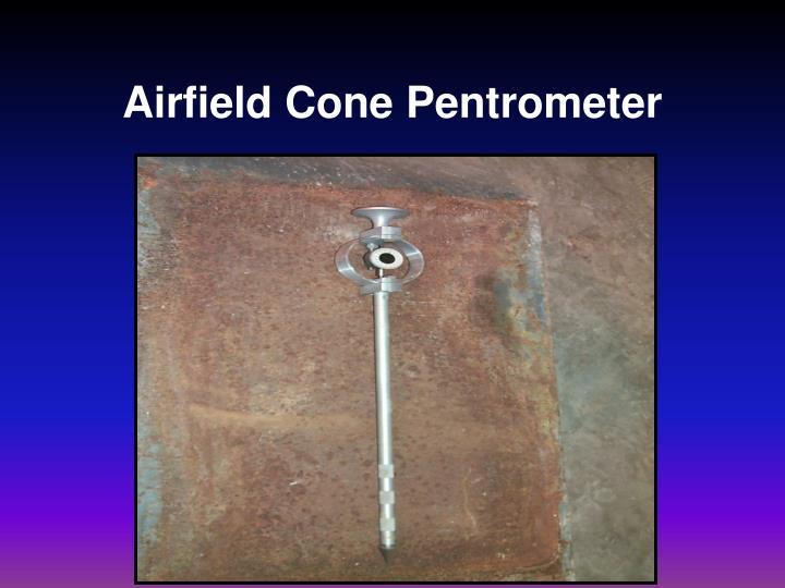 Airfield Cone Pentrometer