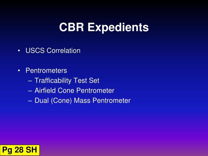 CBR Expedients