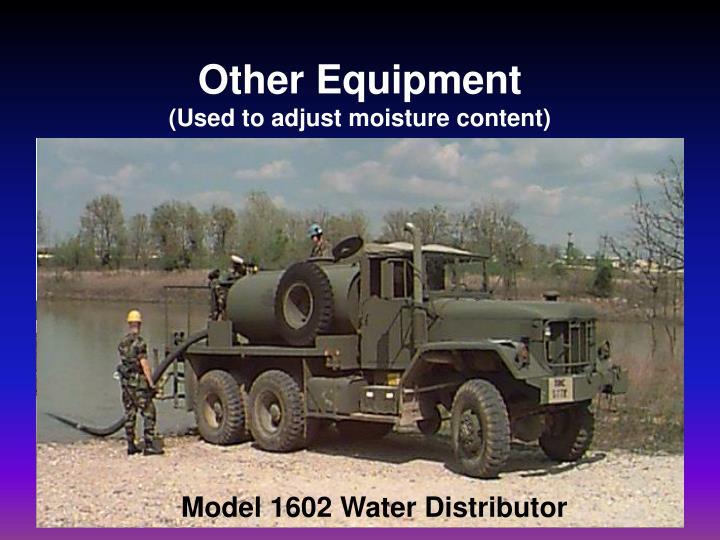 Model 1602 Water Distributor