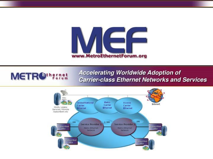 Accelerating Worldwide Adoption of