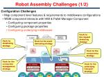 robot assembly challenges 1 2