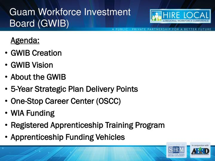 Guam workforce investment board gwib
