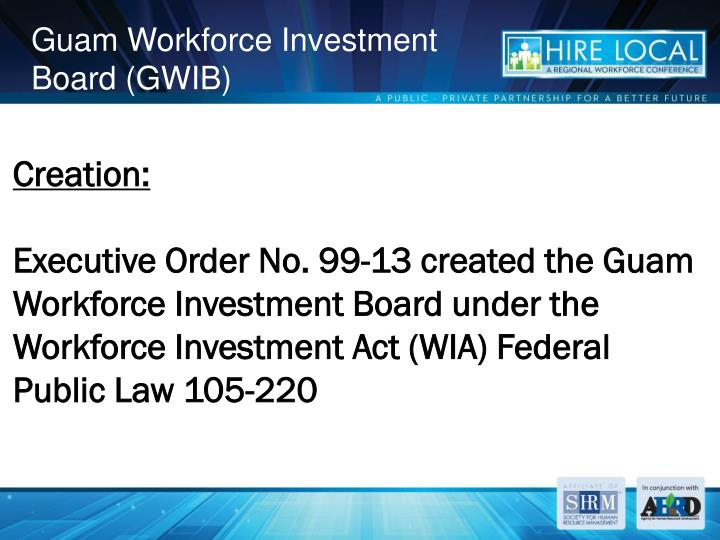 Guam workforce investment board gwib1