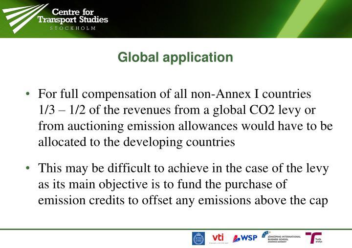 Global application