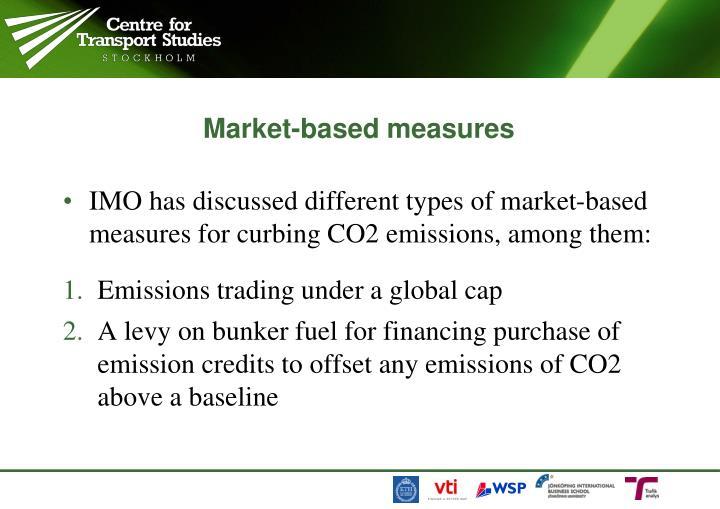 Market based measures