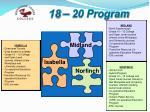 18 20 program