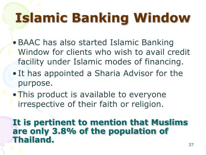 Islamic Banking Window