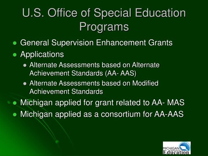 U.S. Office of Special Education Programs