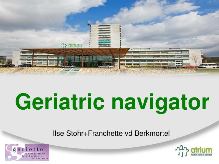 geriatric navigator