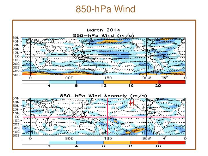 850-hPa Wind