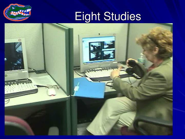 Eight Studies