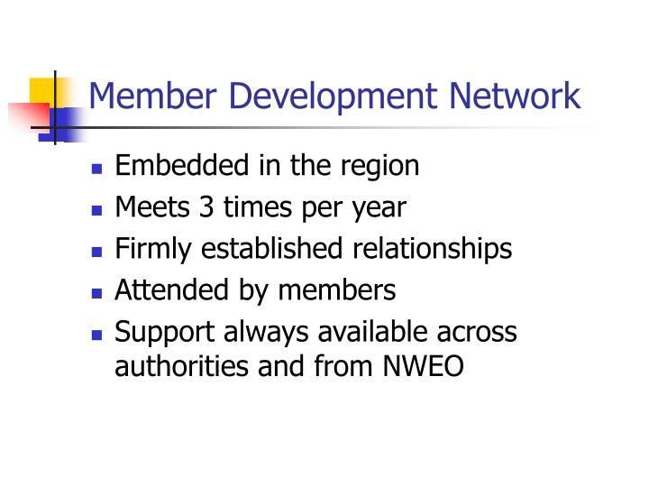 Member Development Network