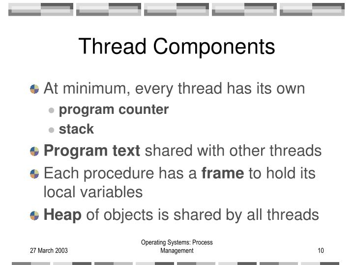 Thread Components