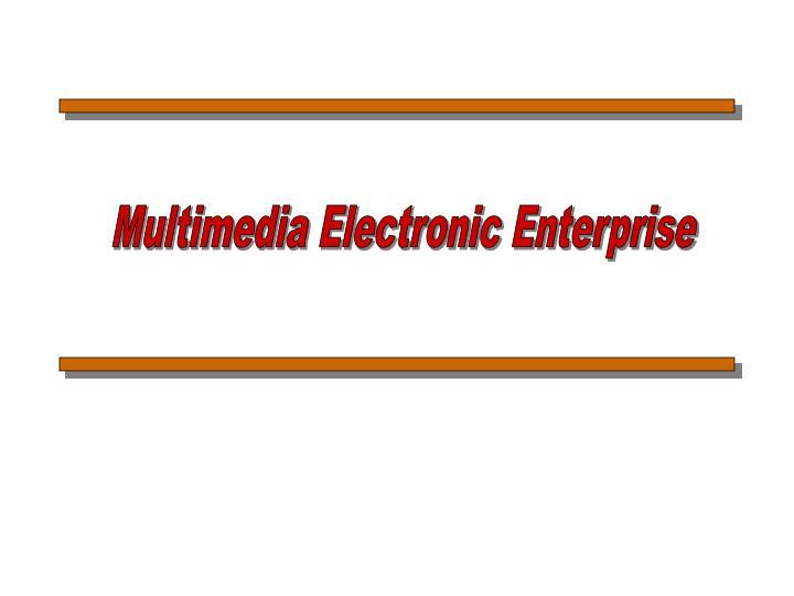 Multimedia Electronic Enterprise