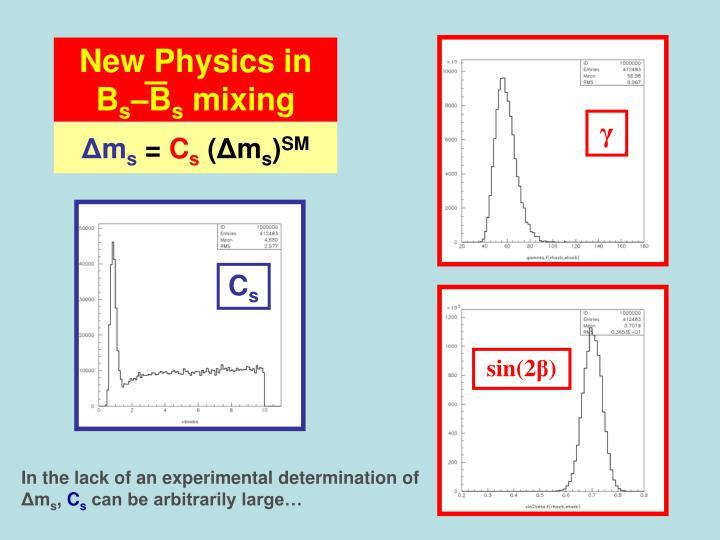 New Physics in B