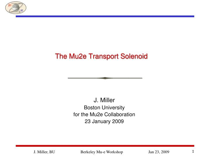 the mu2e transport solenoid n.