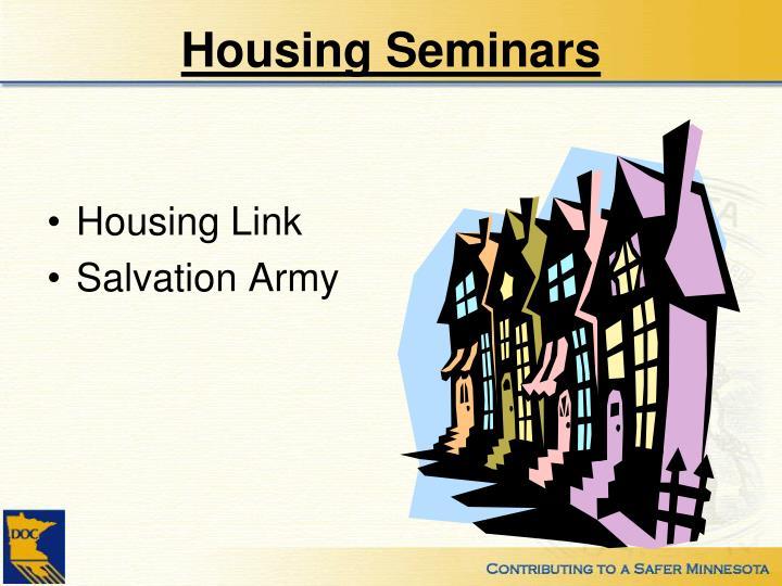 Housing Seminars