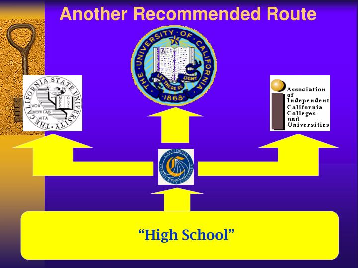Another Recommended Route