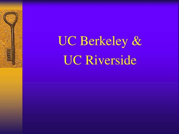 UC Berkeley &