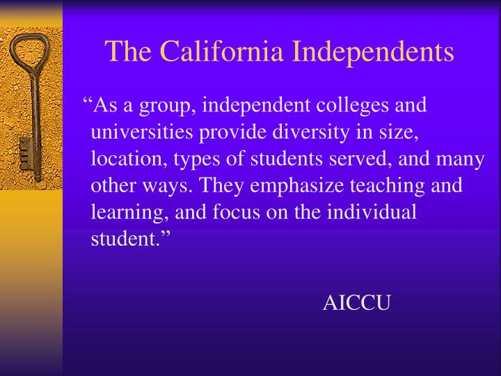 The California Independents