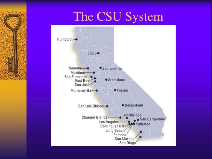 The CSU System