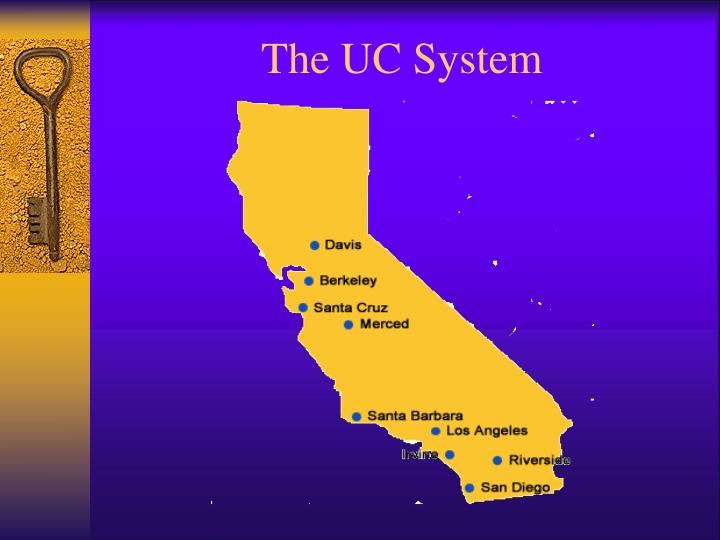 The UC System