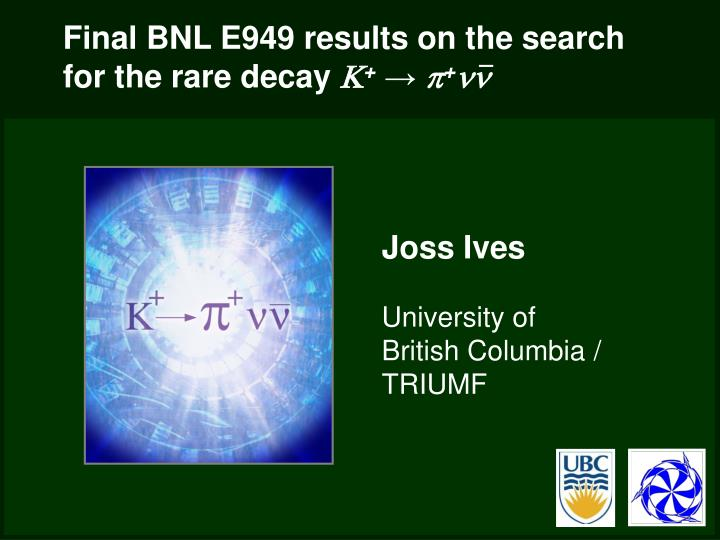 Final bnl e949 results on the search for the rare decay