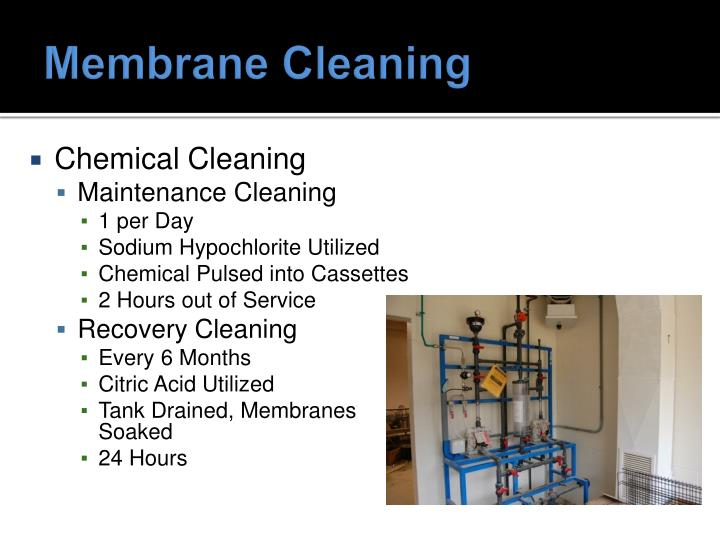 Membrane Cleaning