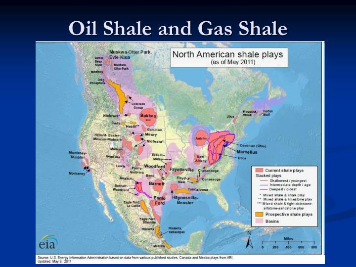 Oil Shale and Gas Shale