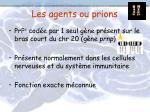 les agents ou prions1