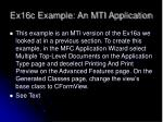 ex16c example an mti application