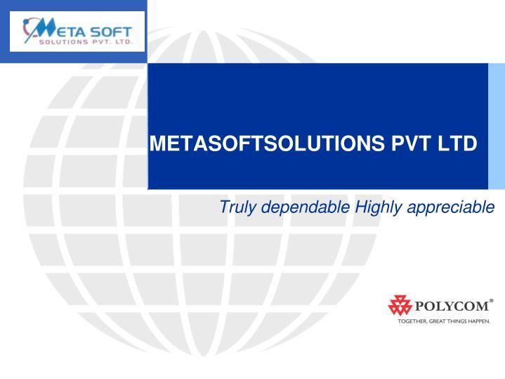 Metasoftsolutions pvt ltd