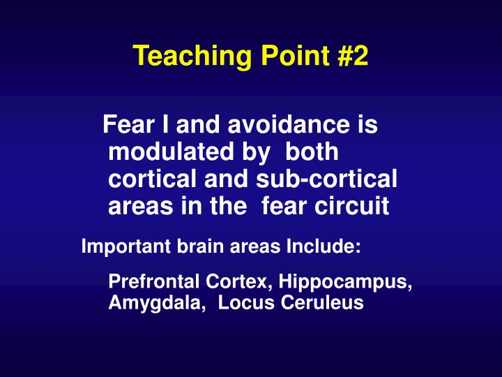 Teaching Point #2