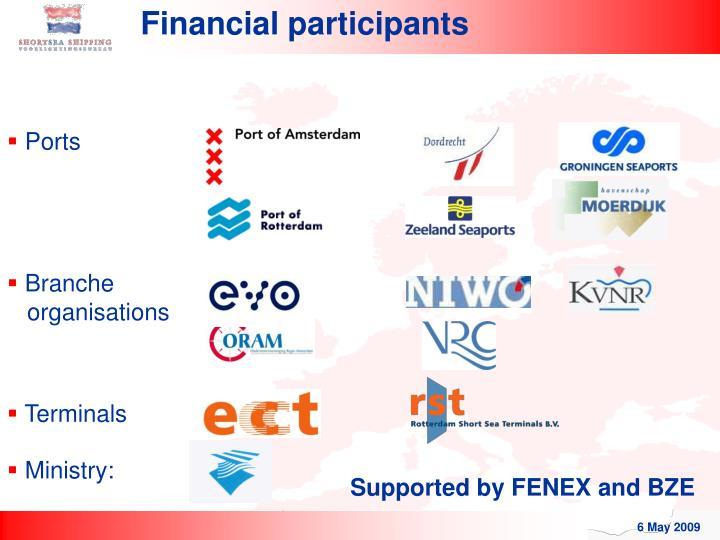 Financial participants