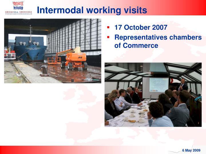 Intermodal working visits
