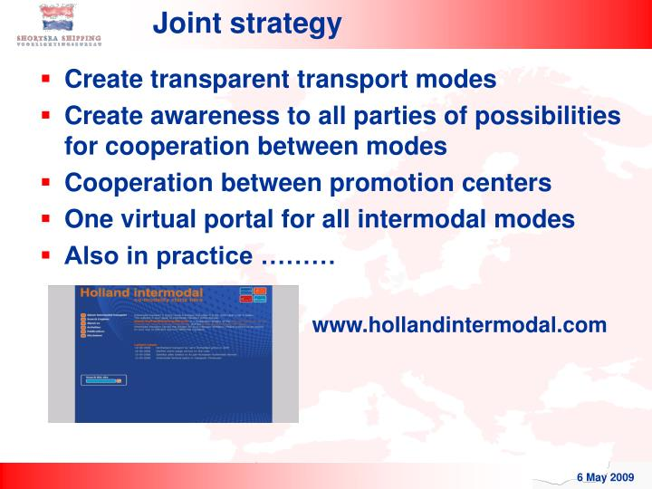 Joint strategy