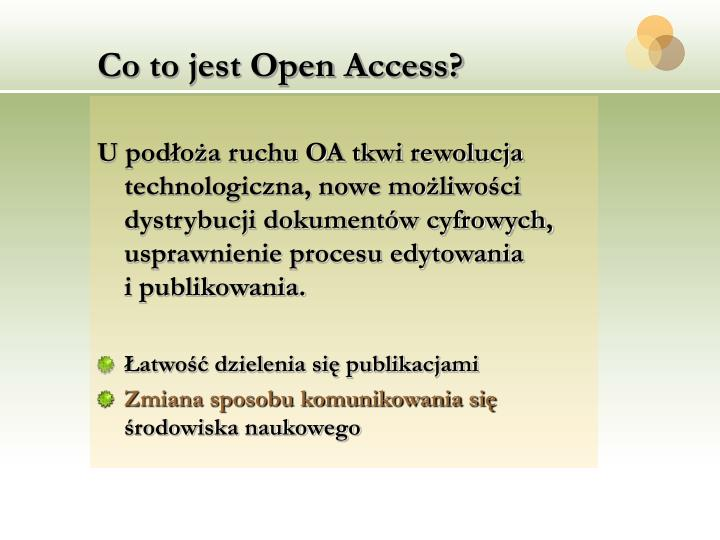 Co to jest open access1