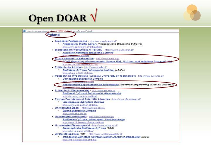 Open DOAR