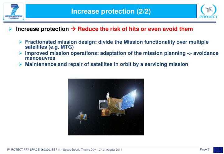 Increase protection (2/2)