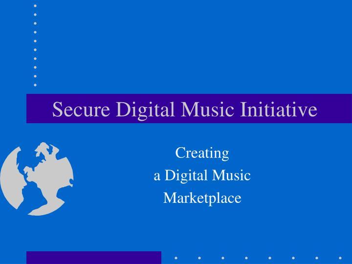 secure digital music initiative n.
