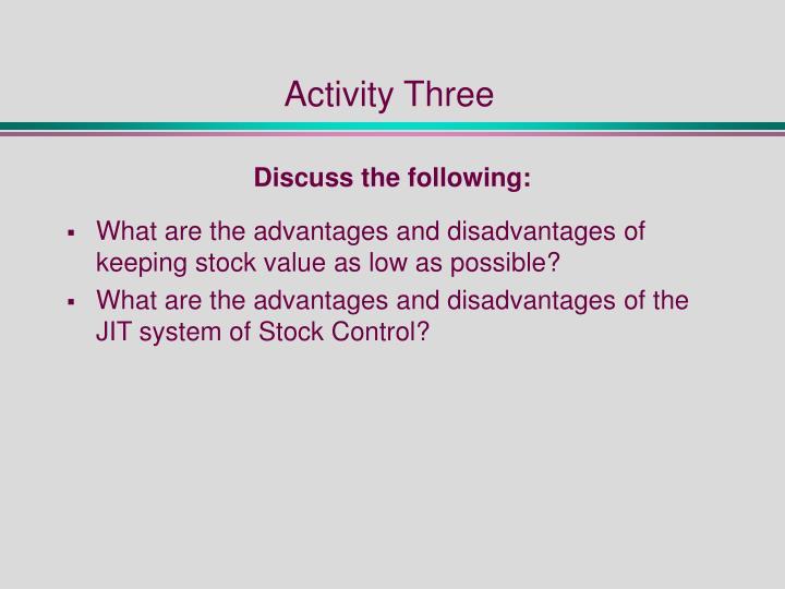Activity Three