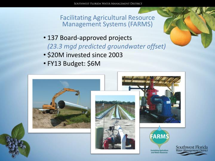Facilitating Agricultural Resource Management Systems (FARMS)