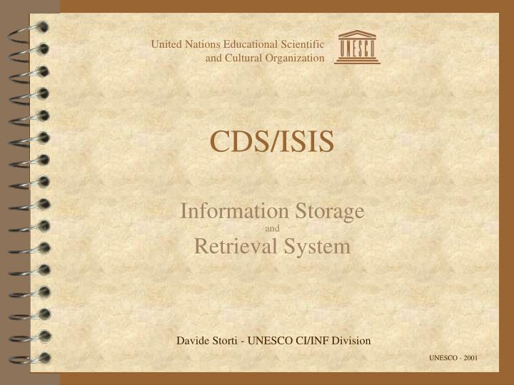 Cds isis